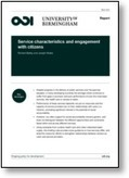Service characteristics and engagement with citizens | International aid trends from a Belgian perspective | Scoop.it