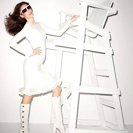 Hilary Rhoda for Vogue Paris | TAFT: Trends And Fashion Timeline | Scoop.it