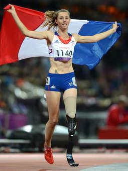 Une journée à 100 000 volts avec Marie-Amélie Le Fur, star de l'athlé handisport...   handisport, sport adapté et sport pour tous   Scoop.it