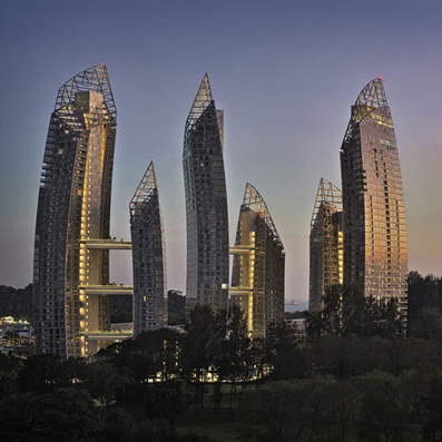 Reflections at Keppel Bay by Daniel Libeskind | DesignDaily | Architecture, Design, Art, Technology | Scoop.it