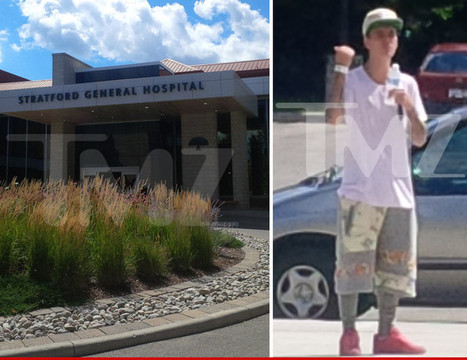 "Justin Bieber -- Visits Hospital for Wrist Injury | ""FOLLIEWOOD"" 