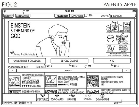 Apple's Virtual University Patent Finally Comes to Light - Patently Apple | For the Love of eLearning | Scoop.it