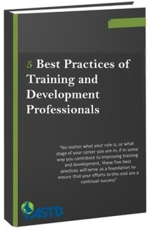 5 Best Practices of Training and Development Professionals   Training for Corporate Trainers   Scoop.it