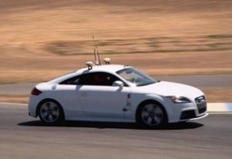 """Human """"Only Just"""" Edges Out Robot Car On The Racetrack 