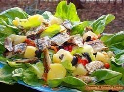Salata cu peste preparat la grătar | Food and recipes | Scoop.it
