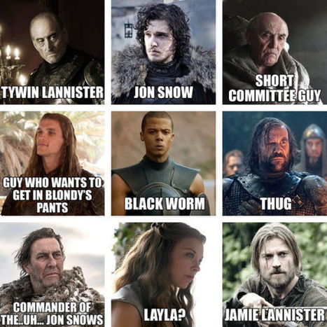 """What the """"Game of Thrones"""" Characters Should Really Be Named (7 pics) - Izismile.com 