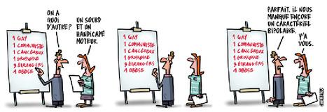 12 dessins humoristiques contre les discriminations | La formation et l'emploi | Scoop.it