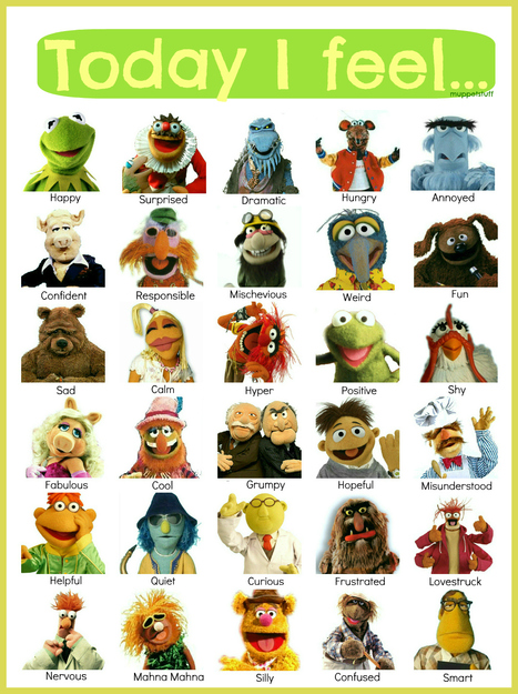 Share how you feel with the Muppets! | Therapy | Scoop.it