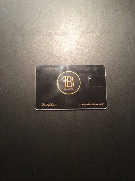 Blackcoin USB Card Product Review | Digital-News on Scoop.it today | Scoop.it