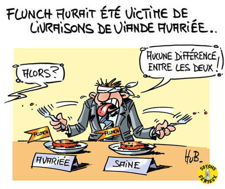 Flunch victime de viande avariée | Baie d'humour | Scoop.it