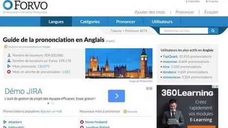 3 sites pour améliorer sa prononciation en anglais – Les Outils Tice   TIC, toc, TICE,   Scoop.it