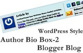 Add WordPress Style Author Bio Box-2 In Blogger Blog - Blogs Daddy | Blogger Tricks, Blog Templates, Widgets | Scoop.it