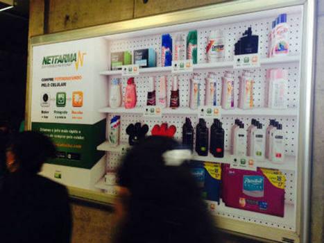 Netfarma cria farmácia virtual no Metrô de São Paulo | Trends & Design | Scoop.it