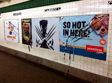 Street marketing dans la métro | streetmarketing | Scoop.it