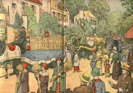 Coutumes et traditions. Fêtes, processions et réjouissances d'autrefois dans les provinces de France | L'actu culturelle | Scoop.it