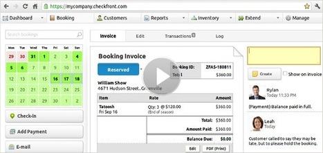 Checkfront: Smart, Simplified Online Bookings | Cloud Central | Scoop.it