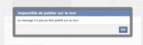 Facebook: panne des mises à jour de statuts, j'aime et partages | Stratégie digitale | Scoop.it