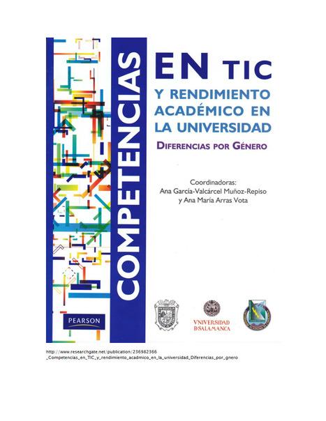 Competencias en TIC y rendimiento académico en la universidad: diferencias por género. | Formación y actitudes del profesorado ante las TIC | Scoop.it