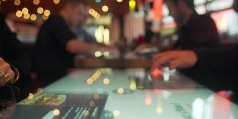 L'écran tactile arrive à table en Rhône-Alpes   Entreprise, innovations et réseaux sociaux   Scoop.it