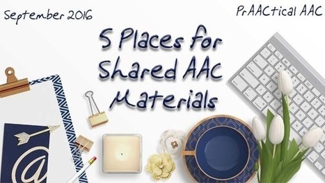 Five Places for Shared AAC Materials | AAC: Augmentative and Alternative Communication | Scoop.it