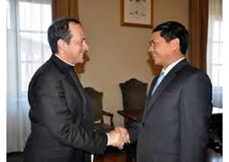 Vzťahy medzi Vietnamom a Svätou stolicou sa stále zlepšujú | Správy Výveska | Scoop.it