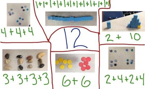 Decomposing Numbers and Educreations App | Tech in Kindergarten | Scoop.it