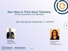 New Ways to Think about Taxonomy:<br/>The Role of Taxonomies in Your Organization | Web Content Enjoyneering | Scoop.it