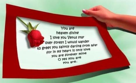 Happy Valentines Day Poems   Entertainment & Technology   Scoop.it