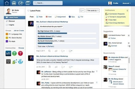 Free social learning platform 'Edmodo' gets an upgrade   Educational Technology and Instructional Technology   Scoop.it