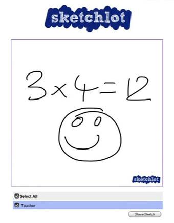 Sketchlot - a shared web whiteboard for tablets | Experiencias  en Educación con Pizarras Digitales Interactivas | Scoop.it