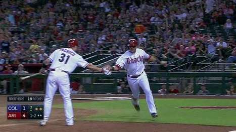 Watch David Peralta steal home ... on a throw back to the mound | Winning The Internet | Scoop.it
