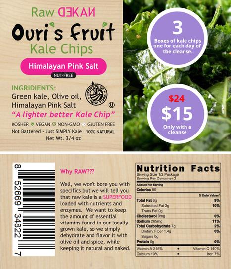 Online Buy Best Snacks as a Kale Chip   Get  Best Juice Cleanse New York   Scoop.it