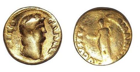 Hallan una moneda de oro con la efigie de Nerón | Mundo Clásico | Scoop.it