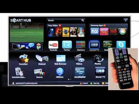 Using Social TV on a Samsung Smart TV | ElectricTV.com | Richard Kastelein on Second Screen, Social TV, Connected TV, Transmedia and Future of TV | Scoop.it