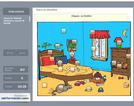 Dans la chambre d'un petit garçon -  Trouvez les objets! | Français | Scoop.it