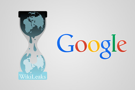 Wikileaks accusa Google di aver consegnato dati e emali agli Usa | InTime - Social Media Magazine | Scoop.it