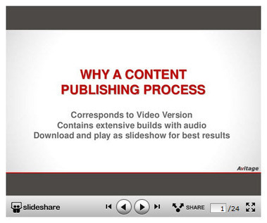Avitage Master Content Publishing Briefing   Marketing and Selling Content Operations   Scoop.it