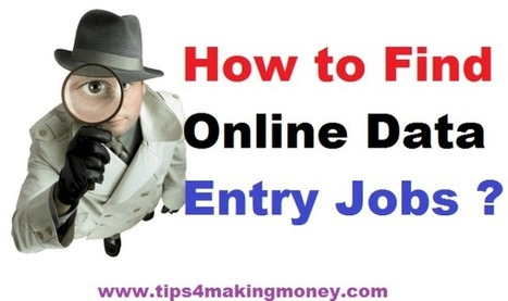 Where to Find Online Data Entry Jobs without Investment | Top 10 | Scoop.it