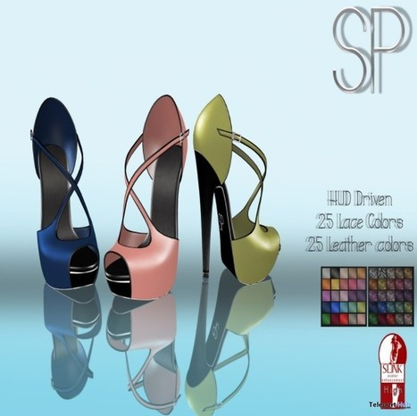 Zoe Fancy Heels Group Gift by PIAGGIO CREATIONS | Teleport Hub - Second Life Freebies | Second Life Freebies | Scoop.it
