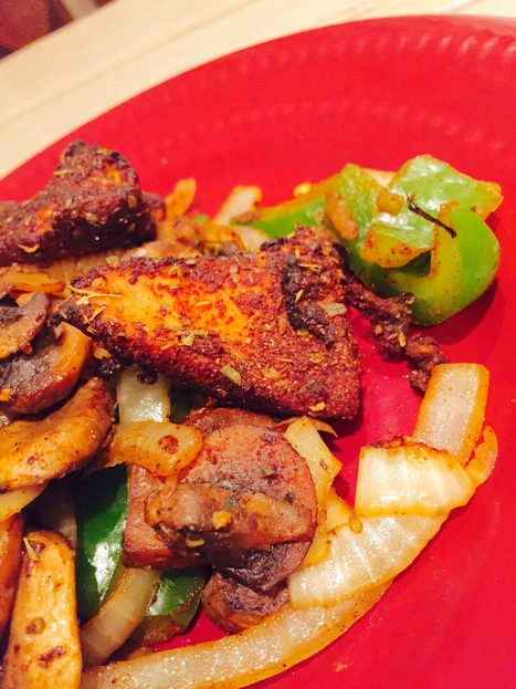 Weight Loss Recipe: Chili Cajun Chicken and Sauteed Vegetables | Weight Loss News | Scoop.it