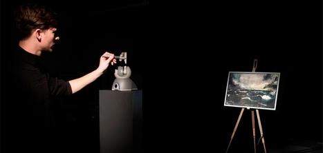 Un système qui permet aux visiteurs de ressentir les mouvements du peintre devant un tableau | Interest Digital Fr | Scoop.it