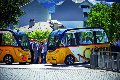 En Suisse, des navettes sans conducteur expérimentées en plein centre-ville | Déplacements-mobilités | Scoop.it
