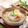 Naengmyeon, (Korean) cold noodles