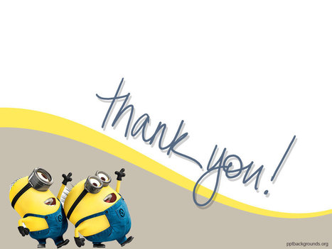 Comic Cartoon Thank You PPT Backgrounds   PowerPoint Backgrounds   Scoop.it