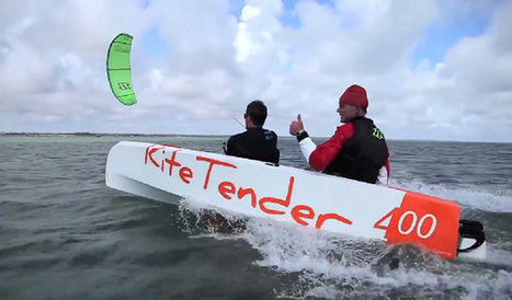 Kite Tender : un nouveau mode de transport promis à un grand avenir. | All Boats Avenue | Nautisme et Plaisance | Scoop.it
