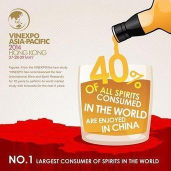 40% of spirits consumed in the world are drunk in China | Quirky wine & spirit articles from VINGLISH | Scoop.it