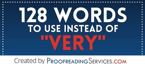 128 Words to Use Instead of Very   Business News & Finance   Scoop.it