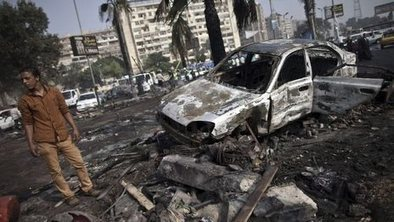 Cairo offices torched as deaths rise | AP United States Government Current Events | Scoop.it