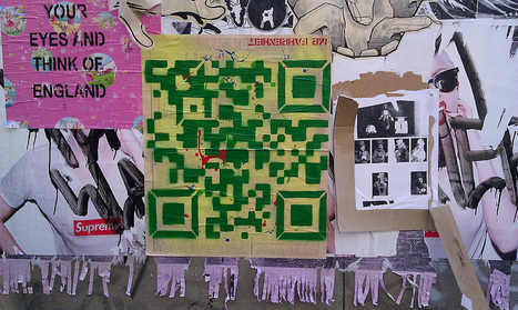 Street Art QR Code | QRdressCode | Scoop.it