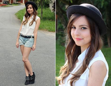 #ColunadaGi: 1 camisa branca, 3 looks de estilos diferentes! | Moda e Beleza | Scoop.it